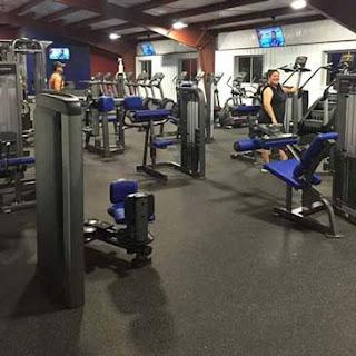 Greatmats Rubber flooring rolls fitness center