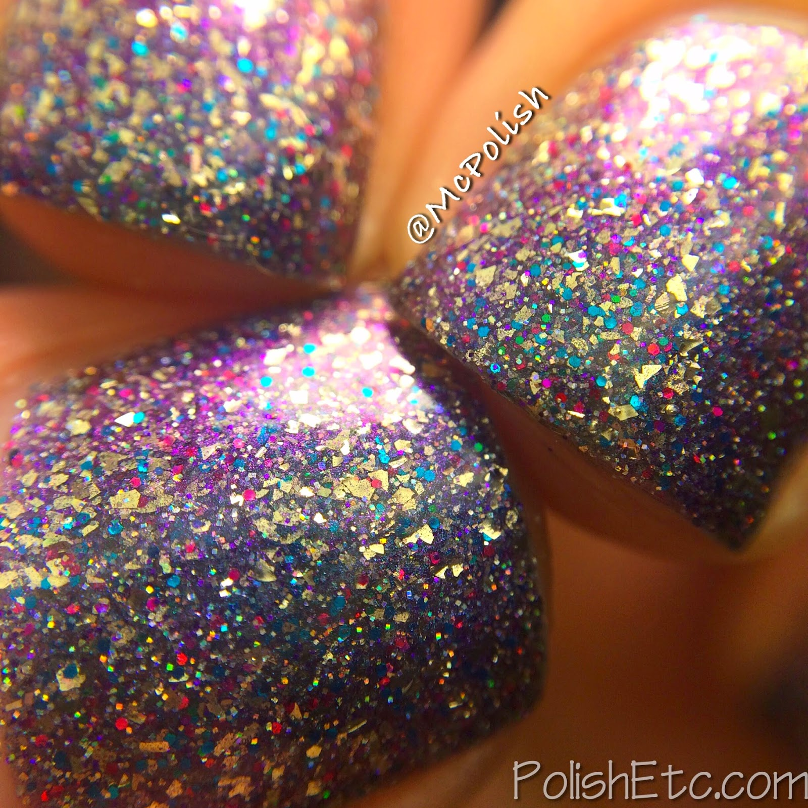 Digital Nails - So Sparkle Macro (swatched by McPolish)