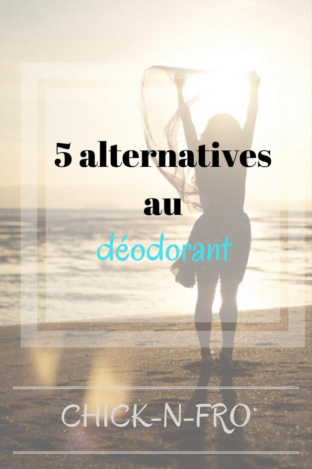 5 alternatives naturelles au déodorant