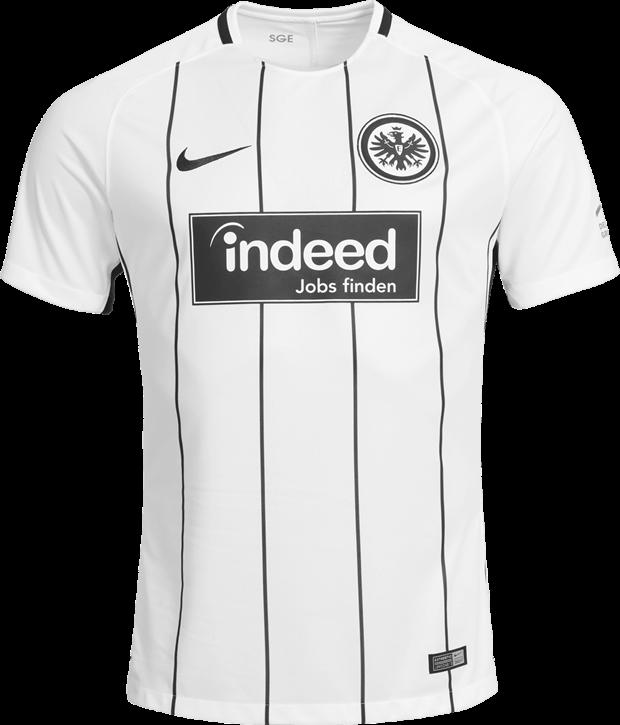 58b5af7ac0 Nike lança a nova camisa titular do Eintracht Frankfurt - Show de Camisas