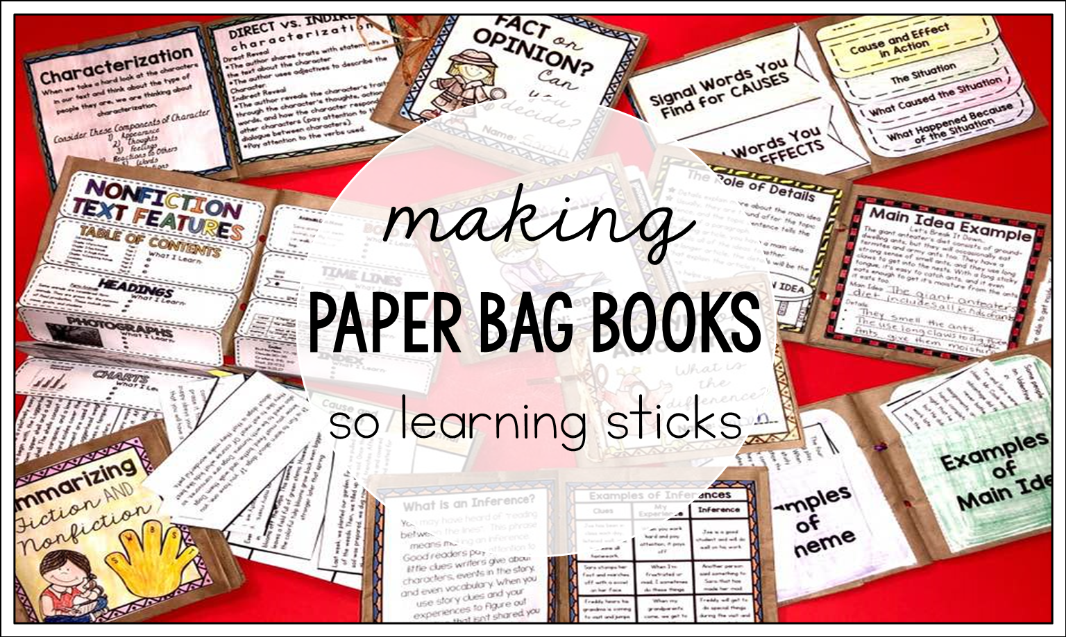 how making books in the classroom can make learning stick