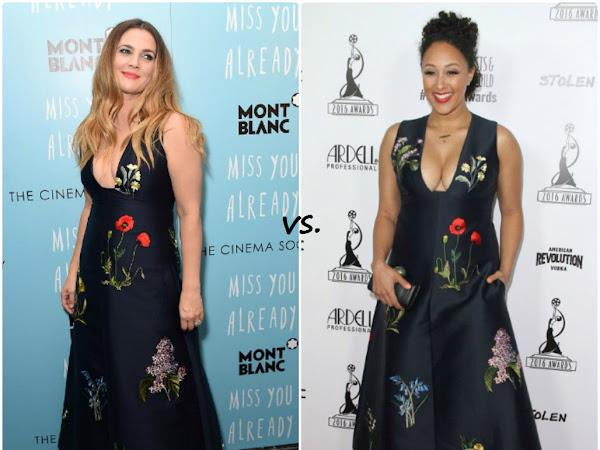 Drew Barrymore vs Tamera Mowry