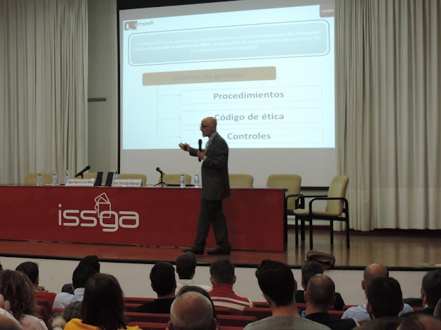 Jornada Compliance Galicia CGPC ISSGA, Juan Carlos Bajo presidente CGPC