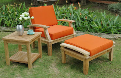 Choose comfortable furniture for your garden