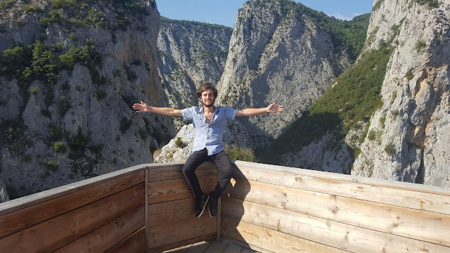 Harun İstenci Kastamonu Küre Dağları Milli Parkında Valla Kanyonunda.