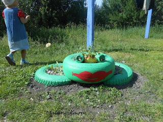 резиновая лягушка