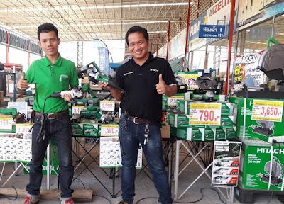 Mr. Autt Hitachi Tools Thailand Sale Supervisor in Buriram