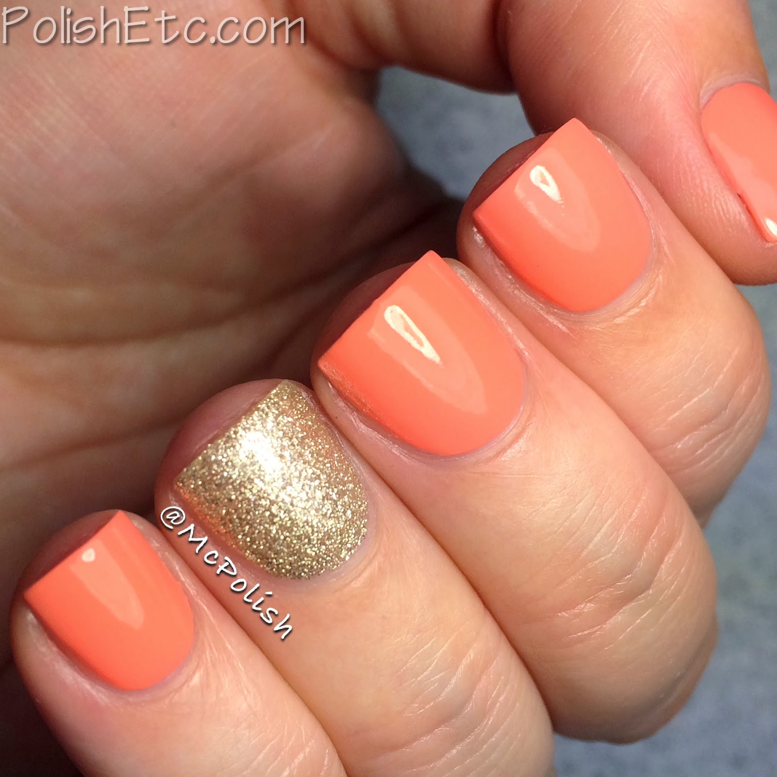 Revlon Parfumerie scented nail polish in Apricot Nectar