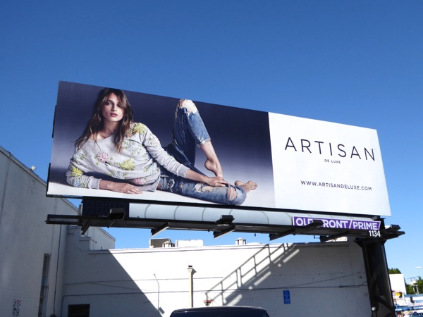 Artisan De Luxe Spring 2016 fashion billboard
