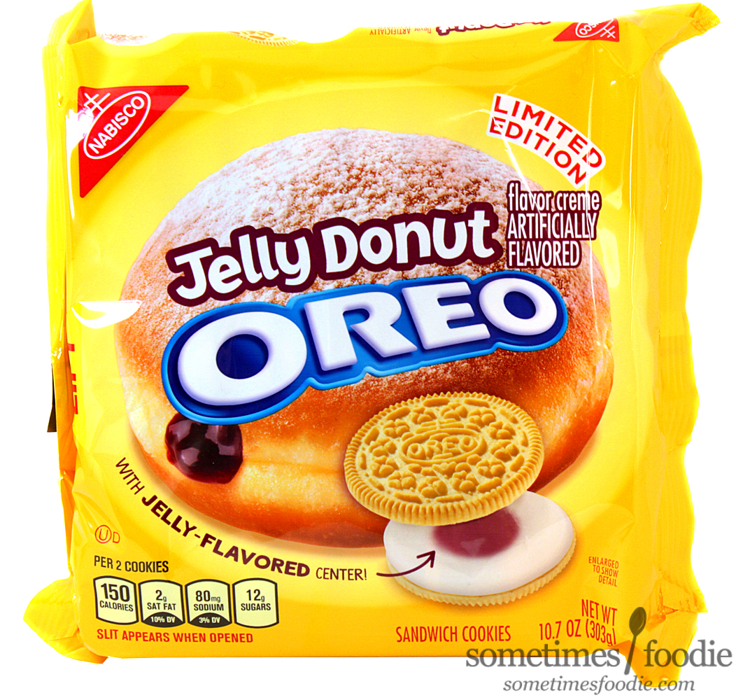 Sometimes Foodie Jelly Donut Oreos