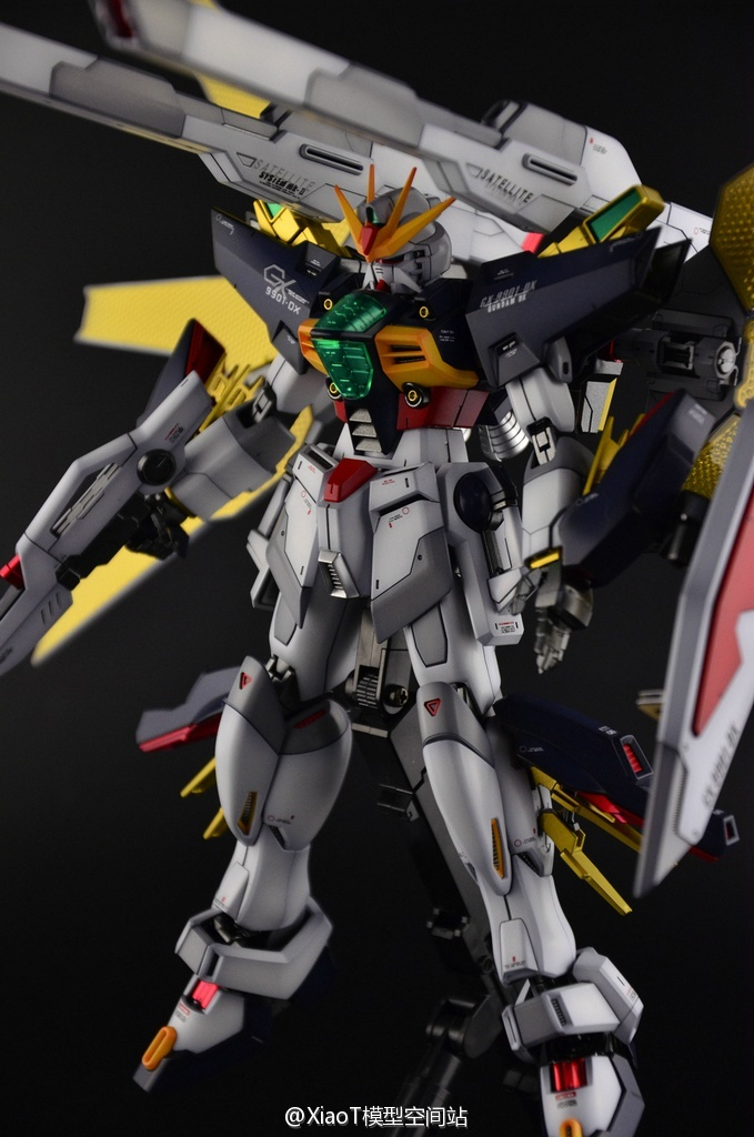 "Custom Build: MG 1/100 Gundam Double X ""Detailed"" - Gundam"