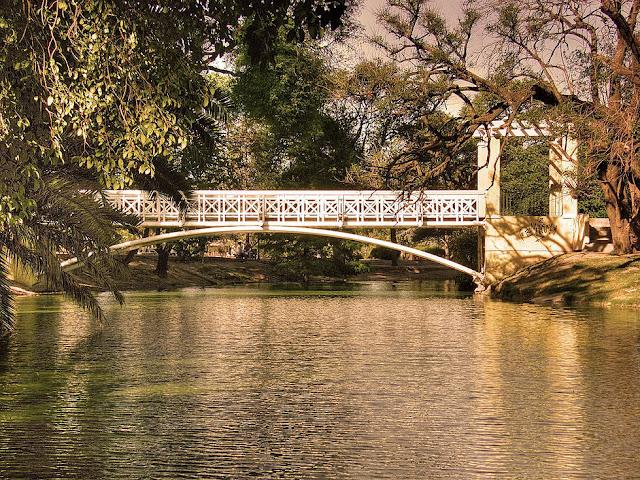 Parque Sarmiento no inverno