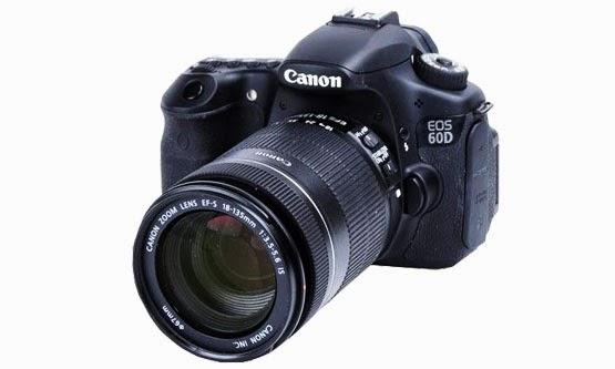 Harga dan Spesifikasi Kamera Canon 60D Terbaru