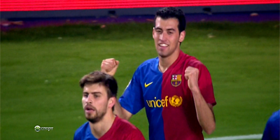 LFP-Week-26 : Barcelona 2 vs 0 Athletic Bilbao 07-03-2009