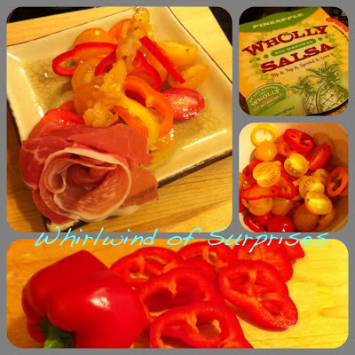Easy salad recipes, prosciutto