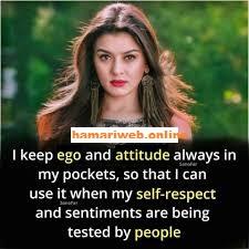 attitude girly quotes