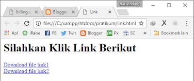 Menghubungkan halaman web dengan halaman web pada satu bagian web.