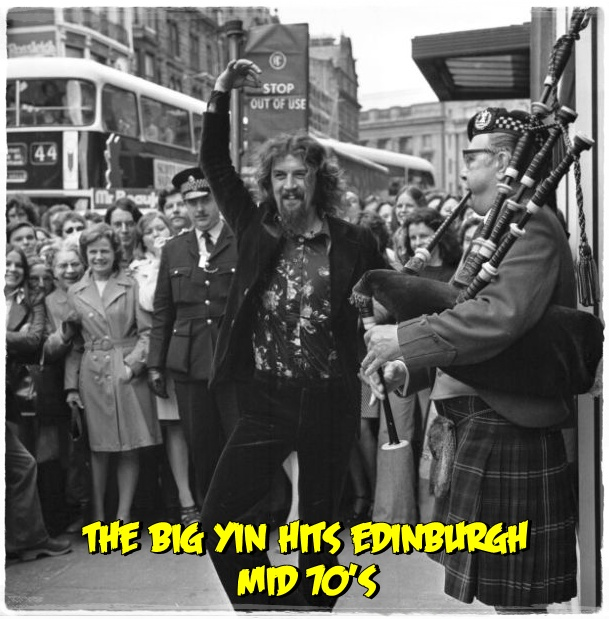 Reck'n'roll: IF IT WAS NAE FOR HIS WELLIES..IT'S THE BIG YIN