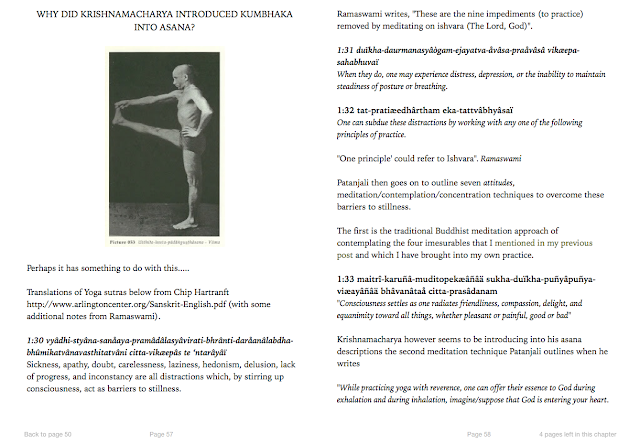 Ashtanga Vinyasa Krama Yoga   at home : Krishnamacharya
