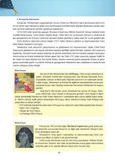 Astronomi ve Uzay Bilimleri Ders Kitabı Cevapları Ata Yayınları Sayfa 20