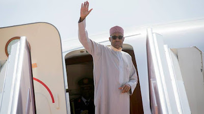 Buhari set to leave Nigeria on Monday