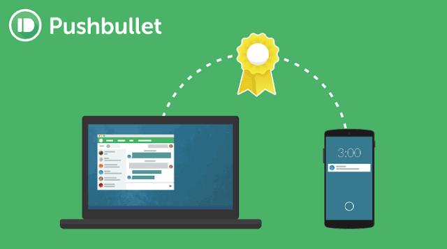 تحميل تطبيق Pushbullet لربط كافة الملفات بين الهاتف وجهاز الكمبيوتر