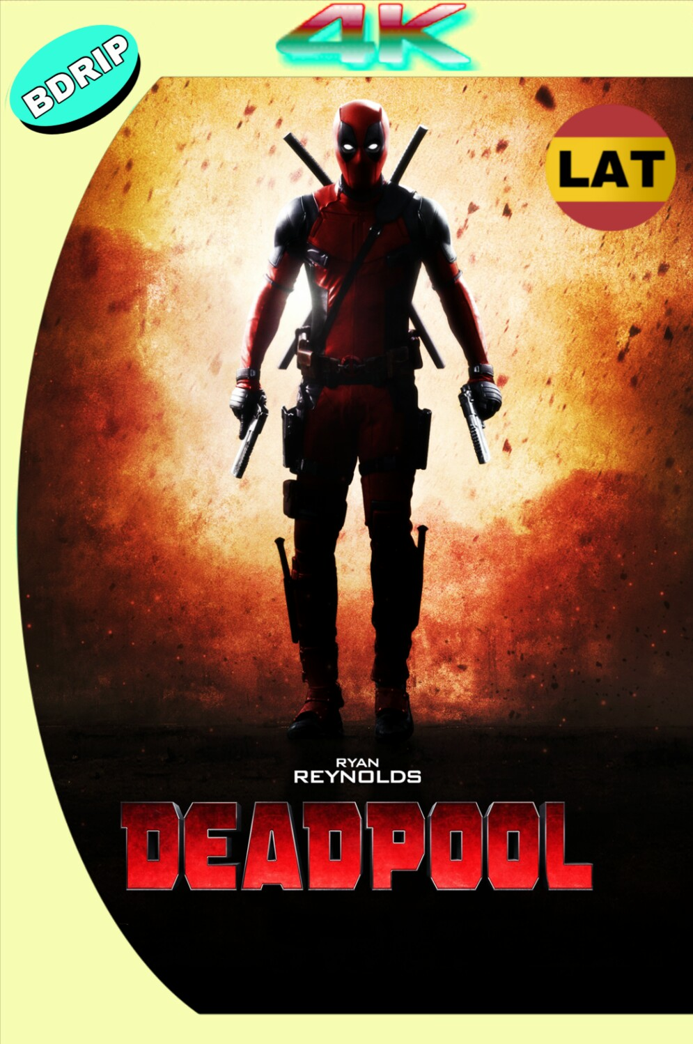 DEADPOOL (2016) BDRIP 2160P 4K UHD LATINO