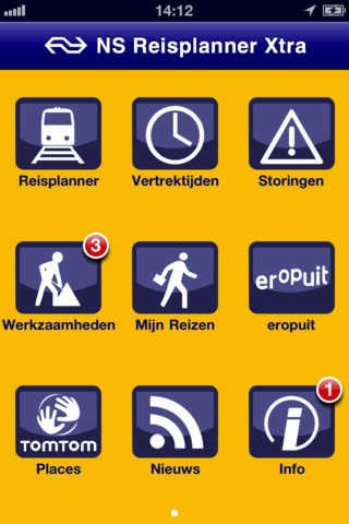 er is een update van de ns reisplanner app waardoor je nu je hele reis inclusief bus en tram kan plannen een bijkomende voordeel van de ns app is dat die