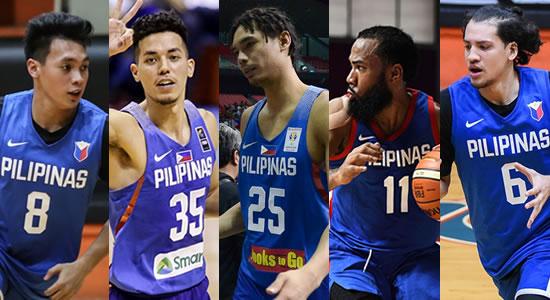 LIST: Team Pilipinas Official lineup vs Qatar 4th window 2019 FIBA World Cup Qualifiers Asia