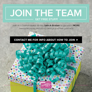 Join my team Stampin' Up!
