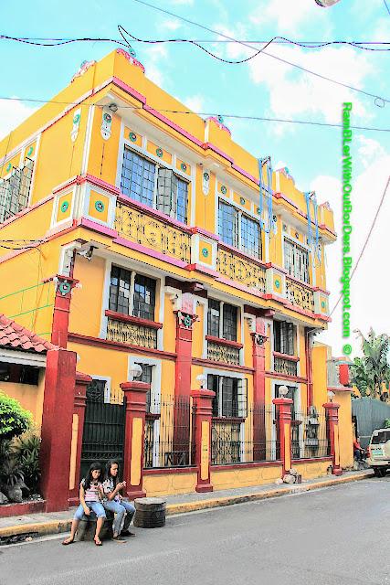 art deco building, Intramuros, Manila, Philippines