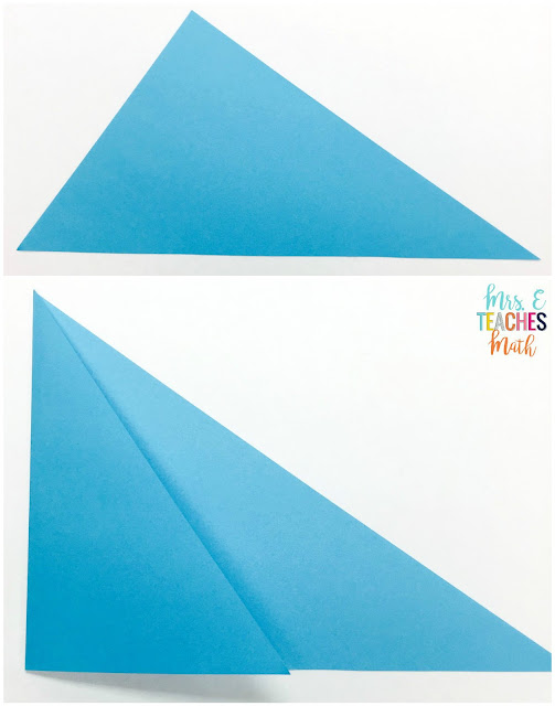 Discovering Altitudes in Triangles by Paper Folding