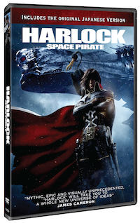 Harlock: Space Pirate DVD Review & Giveaway