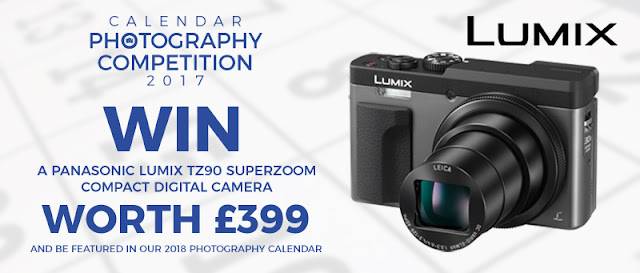 Win a Panasonic Lumix TZ90 compact digital camera in the Park Cameras 2017 calendar photography competition for September