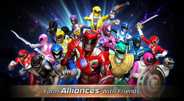 Power Rangers Legacy Wars v1.0.1 Apk Terbaru Gratis