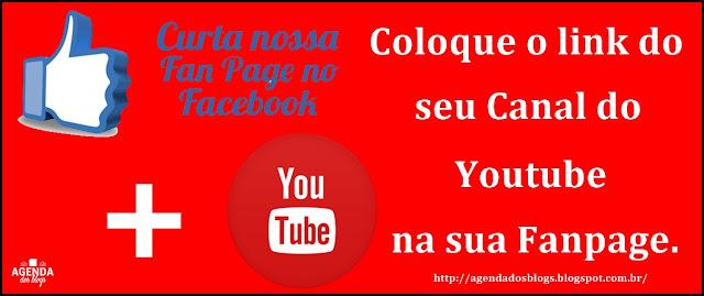 Link do Yioutube na Fanpage