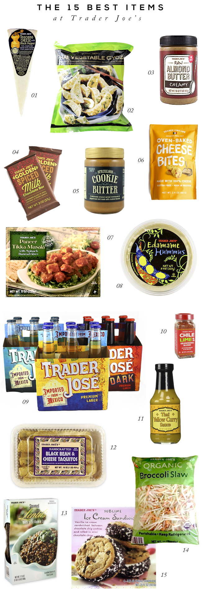 The 15 BEST Items to Get at Trader Joe's