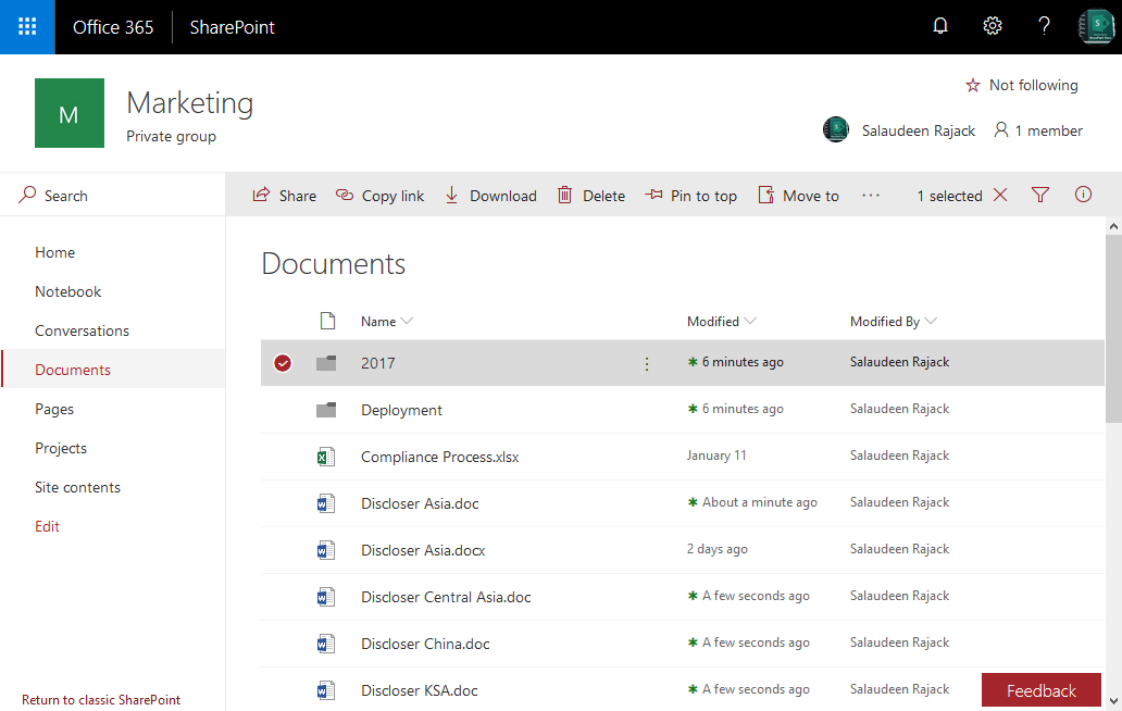 SharePoint Online: PowerShell to Get a Folder in Document Library