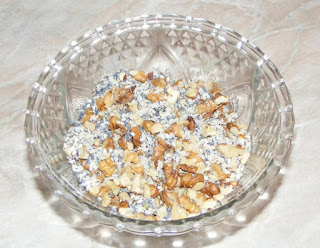 amestec de seminte pentru paste, miez de nuca, seminte de susan, seminte de mac, fulgi de cocos, zahar tos, seminte de floarea soarelui, retete, deserturi si dulciuri preparare,