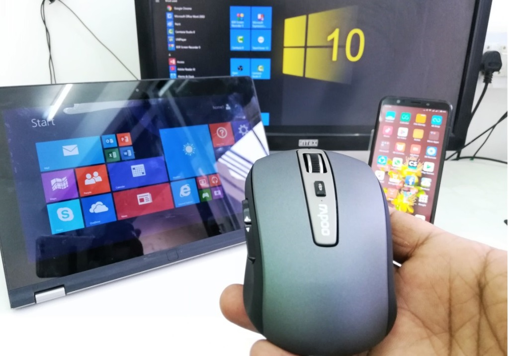 Learn New Things: All-in-One Bluetooth Mouse for PC/Laptop
