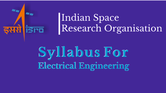ISRO Syllabus for EE