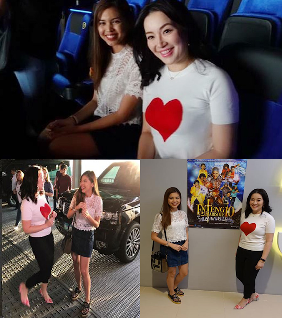 Is She Kris Aquino's New BFF? Check Out Who Joined Kris Aquino In Watching Enteng Kabisote!