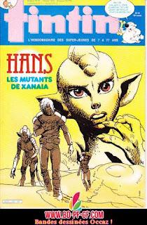 Fascicule Tintin, numéro 24, année 1985