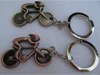 Regalos originales para ciclistas: Llavero bicicleta