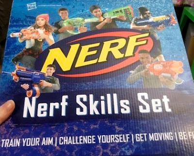 Nerf Fest Skills Set box cover