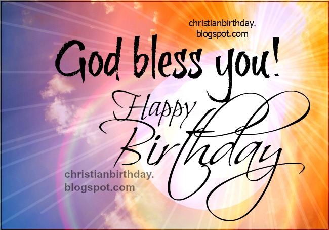 christian birthday free cards, Birthday card