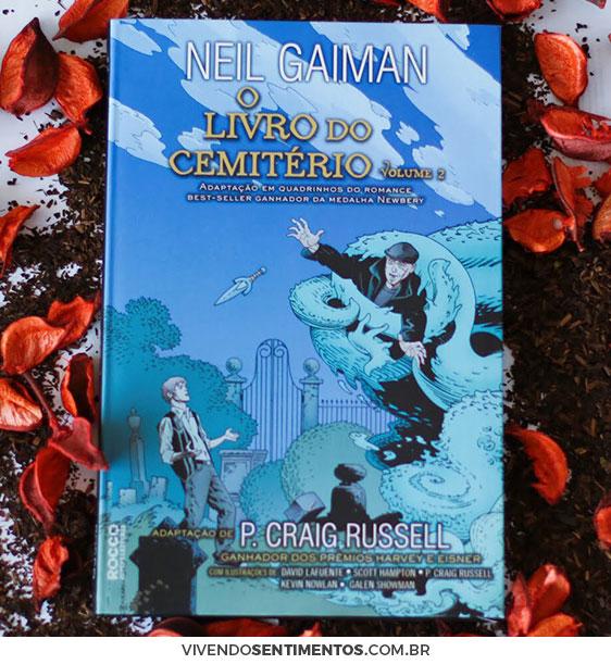 O LIVRO DO CEMITÉRIO - VOLUME 2 - NEIL GAIMAN