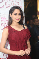 Pragya Jaiswal in Stunnign Deep neck Designer Maroon Dress at Nakshatram music launch ~ CelebesNext Celebrities Galleries 088.JPG