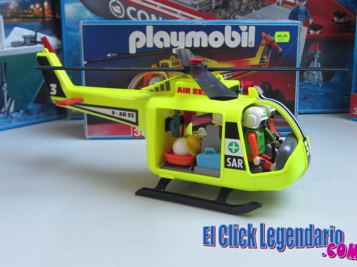 El click legendario helic ptero de rescate en monta a sar for Helicoptero playmobil
