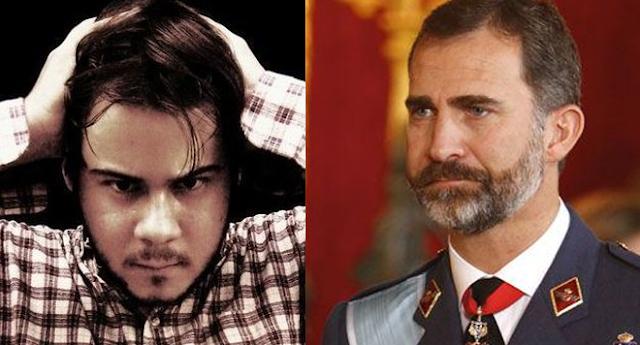 La Fiscalía investiga al rapero Pablo Hasel por sus tuits contra la familia real